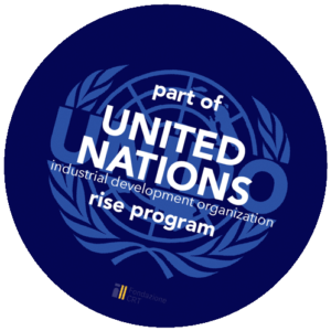 Patterns of Life for United Nations Industrial Development Organization rise program badge